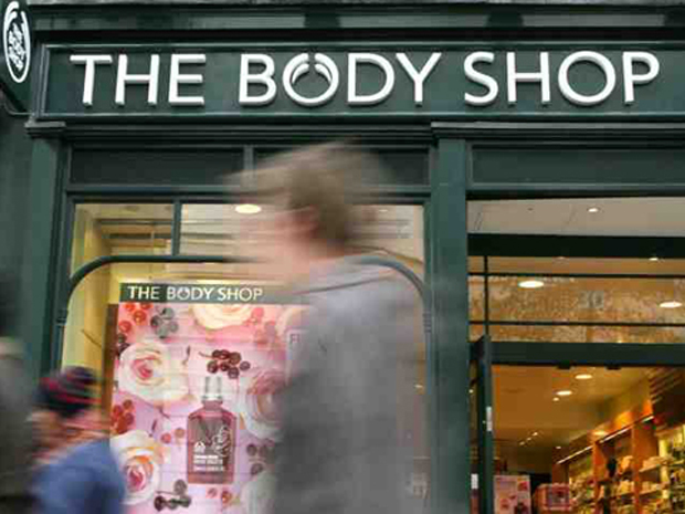 …The Body Shop