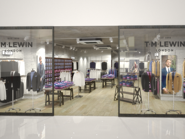 …TM Lewin – New Concept
